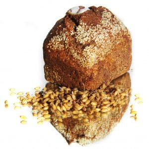 Sortiment - BIO Dinkel Keimbrot mit Sesamkruste
